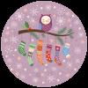 kerstsok vol cadeautjes