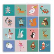 Dierenkaartjes bij het spel Welk dier ben ik?
